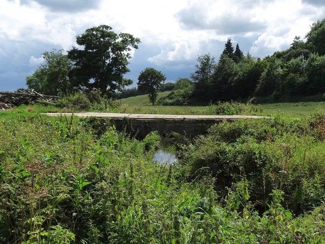 Farm bridge over the Ecclesbourne