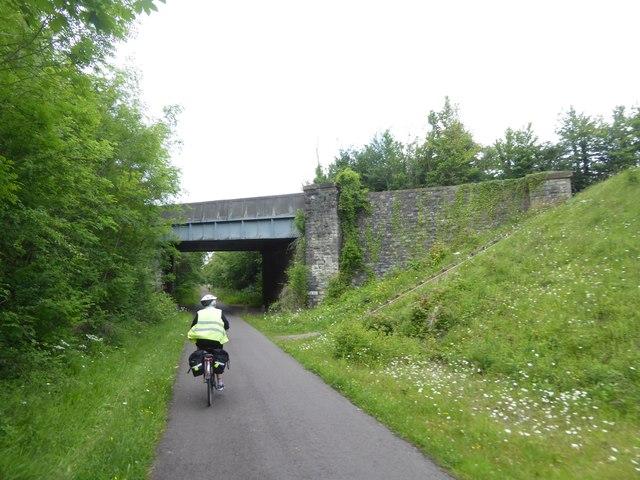 A4 bridge over Bristol and Bath cycle path