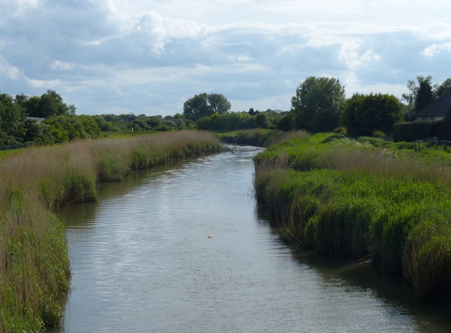 River Hull next to the Sutton Road Bridge