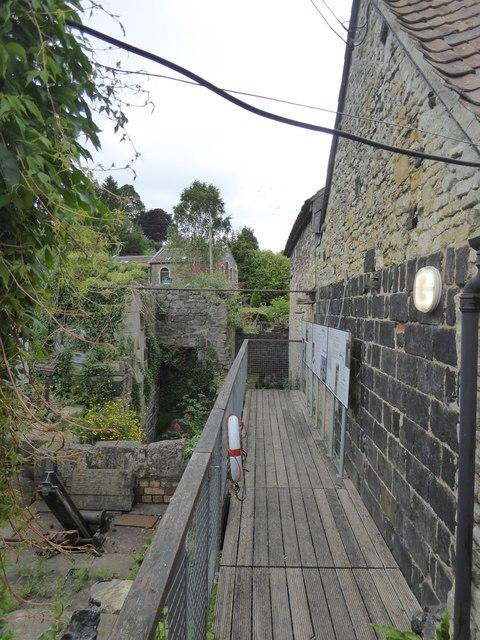 Waterwheel pit, Saltford Brass Mill