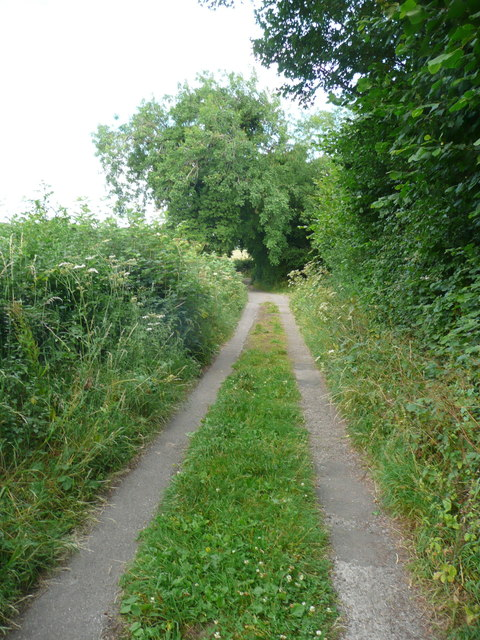 Footpath from Painswick Old Road to Folly Lane