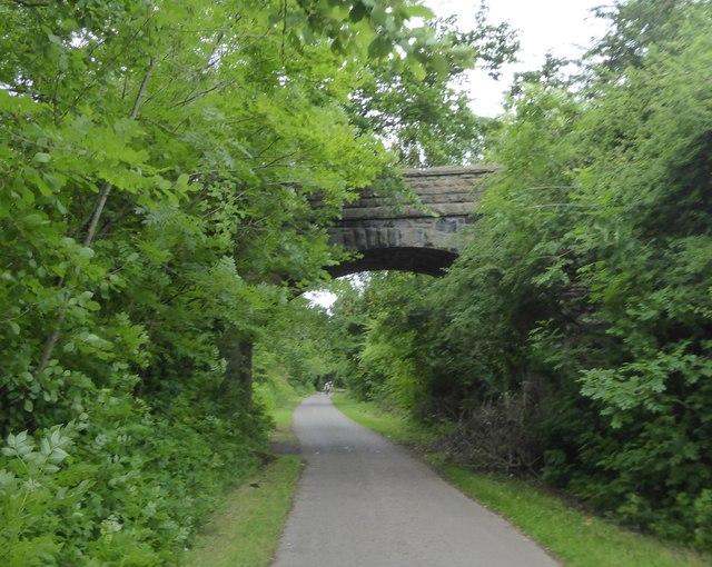Dramway Footpath bridge