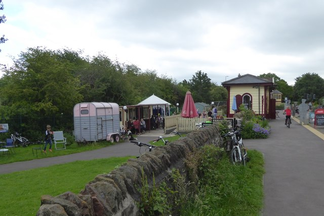 Tea rooms at Warmley station