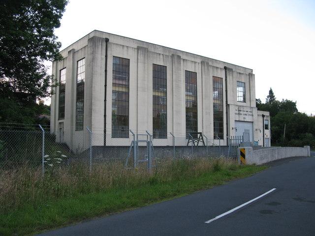 Earlstoun Power Station, Galloway Water Power Scheme