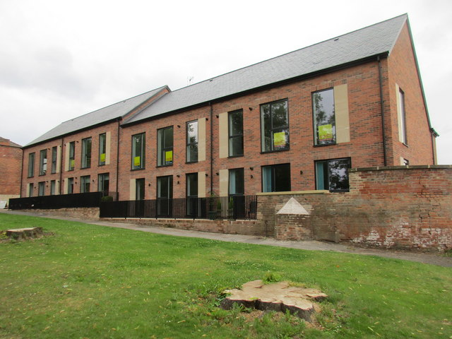 New housing, Burgage, Southwell