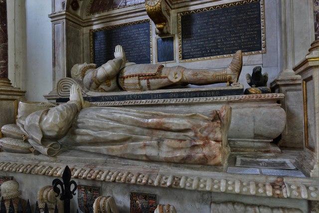 Wing, All Saints Church: Sir William Dormer monument ca 1590  2