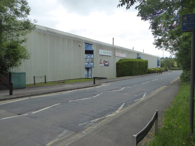 Gym building, Southway Drive