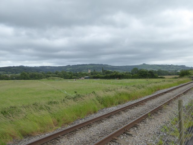 Looking towards Bitton from cycle route