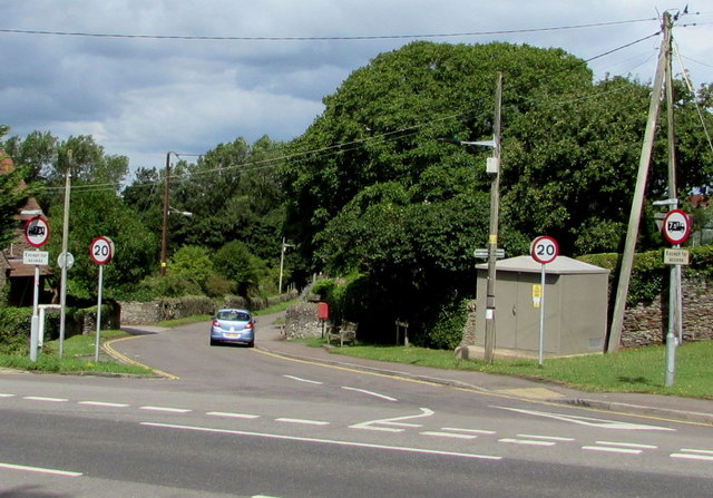 Junction of Badminton Road and Nibley Lane, Nibley, South Gloucestershire