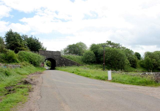 Old Railway Bridge at Parsley Hay