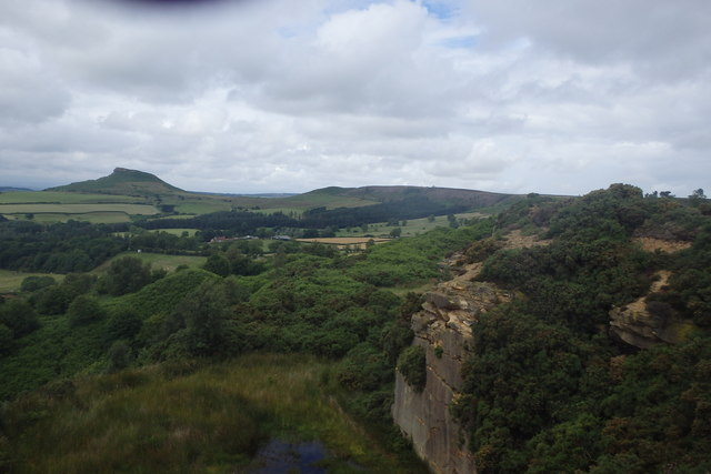 Looking towards Roseberry Topping