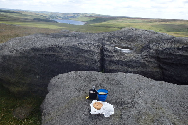 Lunch on the Pennine way