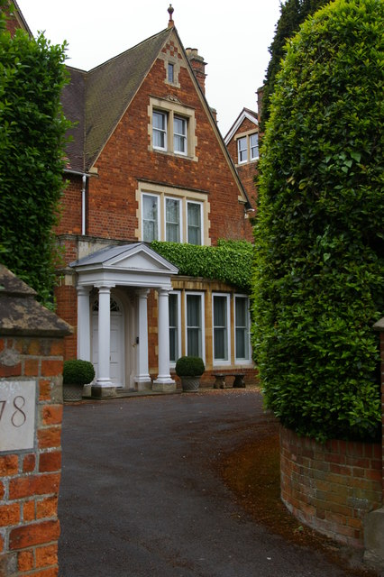 Banbury Road, Oxford: former home of Sir James Murray