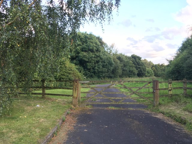 View from Sustrans route 55