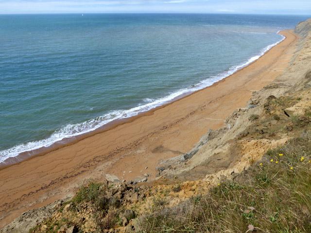Crumbling coast, Isle of Wight