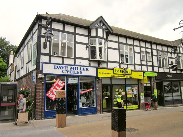 Dave Miller Cycles and The Zipyard, Chester