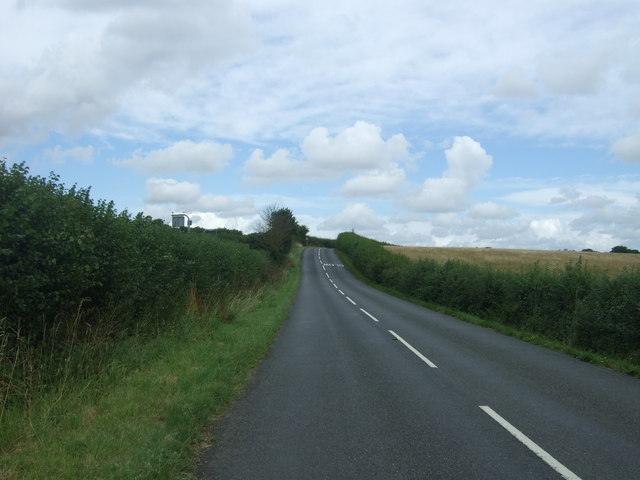 Minor road towards Droitwich