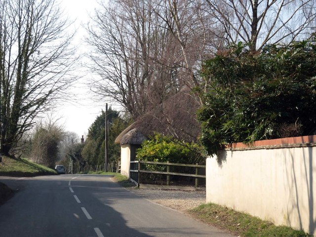 The road to Sutton Scotney