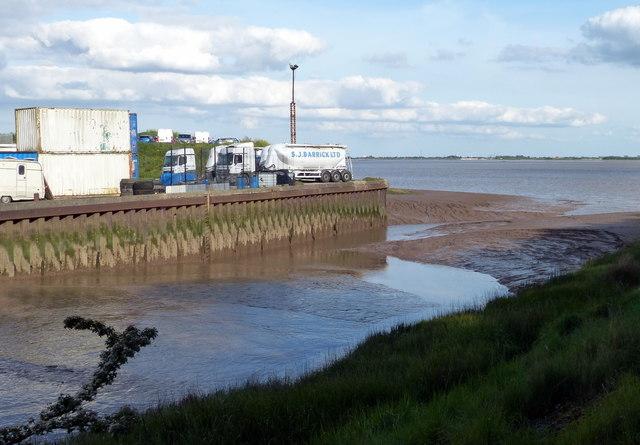Hessle Haven on the Humber estuary