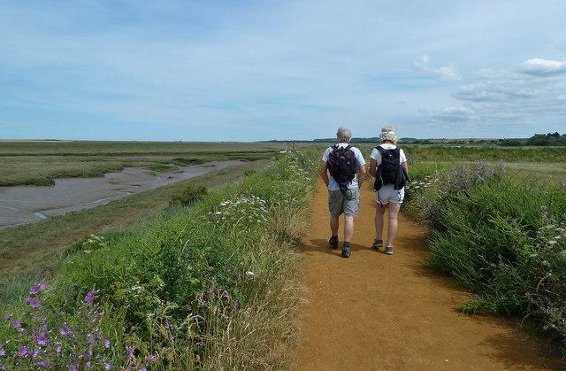 On The Norfolk Coast Path