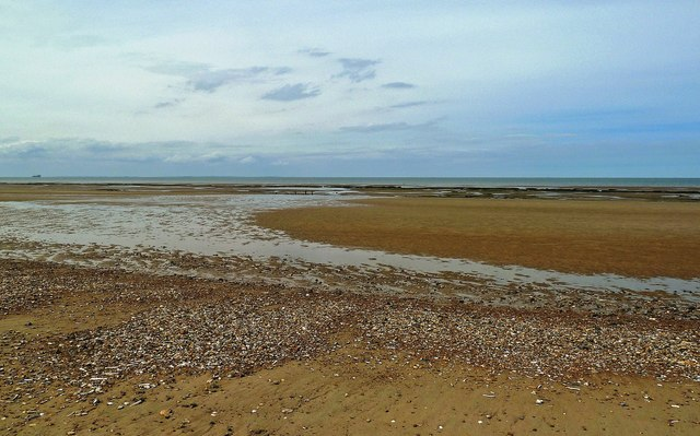 Tide's Out at Holme