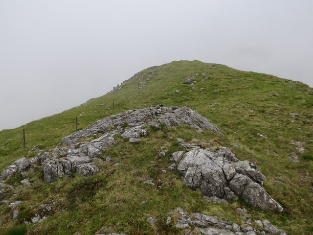 Route up Fraochaidh