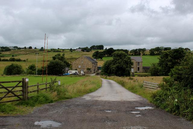 Access to Kay Fold Farm