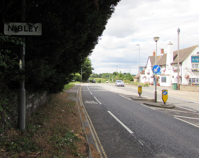 Eastern boundary of Nibley, South Gloucestershire