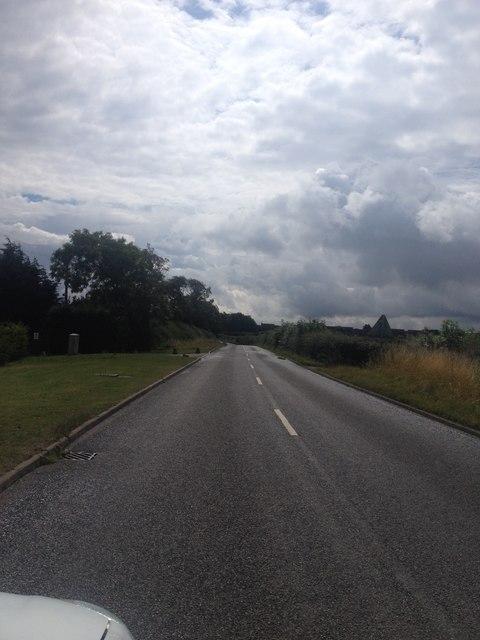 Heading towards Desborough