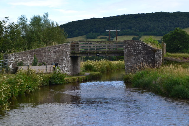 Bridge No. 160 on the Monmouthshire and Brecon Canal