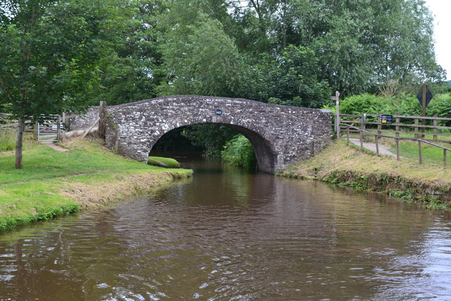 Bridge No. 163 on the Monmouthshire and Brecon Canal