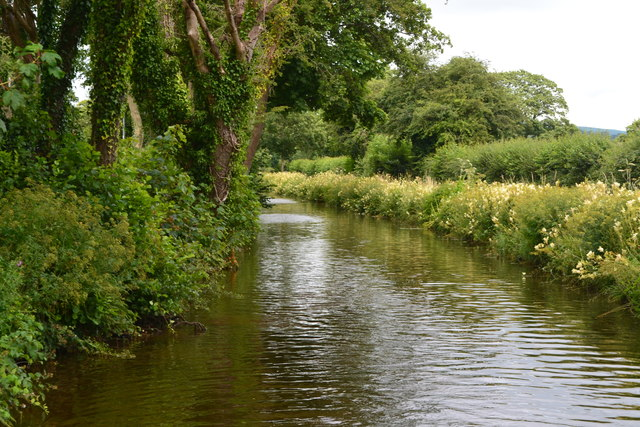 Monmouthshire and Brecon Canal at Dorlangoch