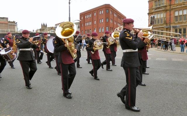 The Duke of Lancaster's  Regimental Band