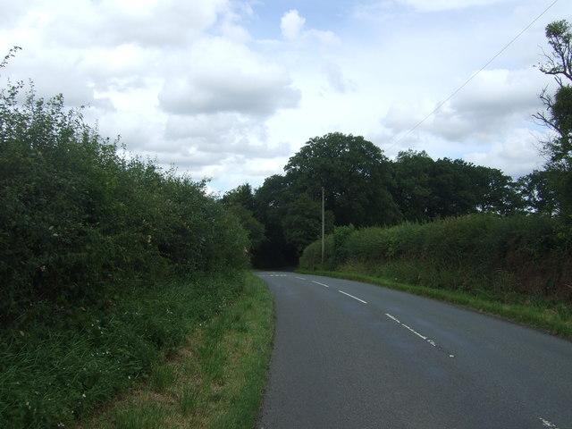 School Road near Howning's Farm