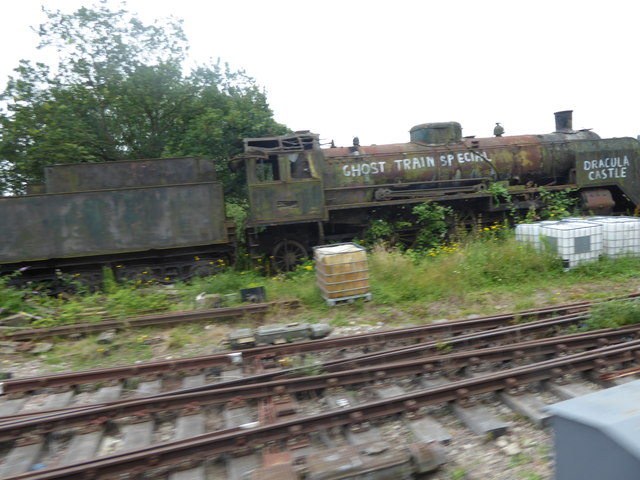 Derelict engine at Ongar