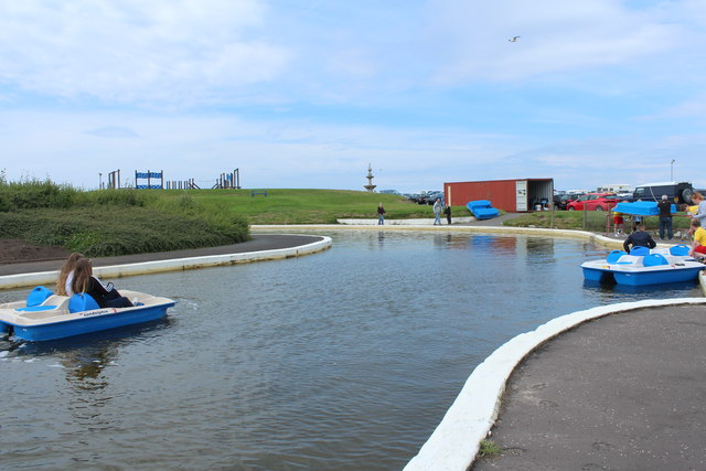 Boating Pond, Girvan