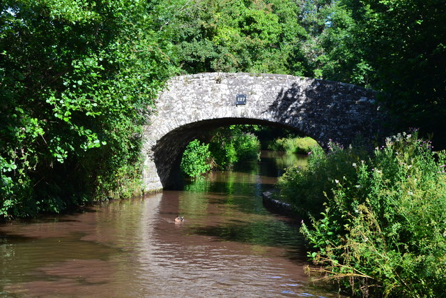 Bridge No. 127 on the Monmouthshire and Brecon Canal