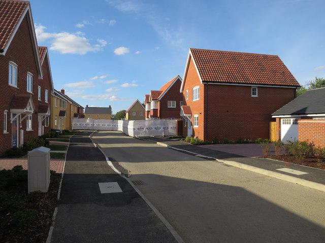 New housing at Waterbeach