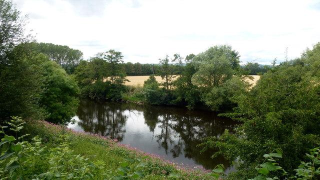 River Wye at Merbach