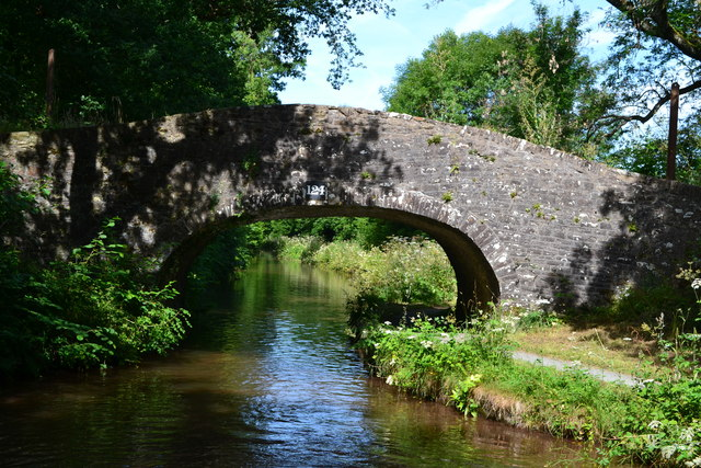Bridge No. 124 on the Monmouthshire and Brecon Canal
