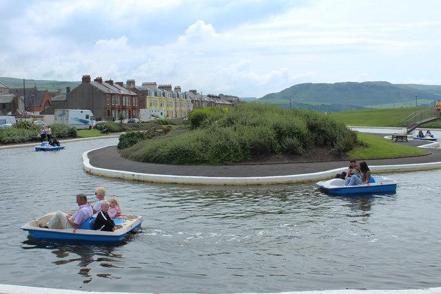 Boating Pond, Girvan