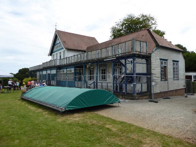 Sports pavilion Britannia Royal Naval College