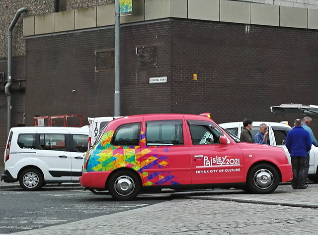 Paisley 2021 campaign taxi
