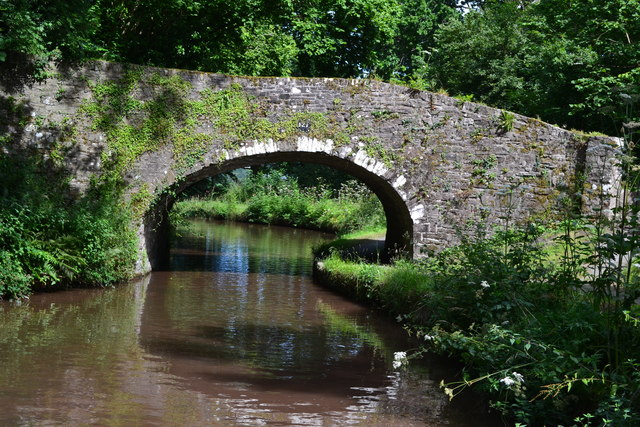 Bridge No. 121 on the Monmouthshire and Brecon Canal