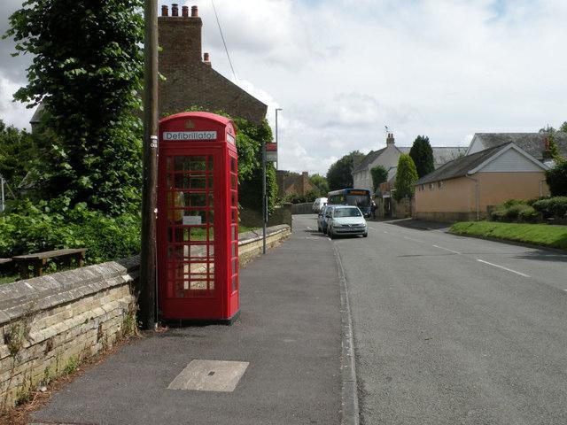 Defibrillator Box, Swaffham Prior