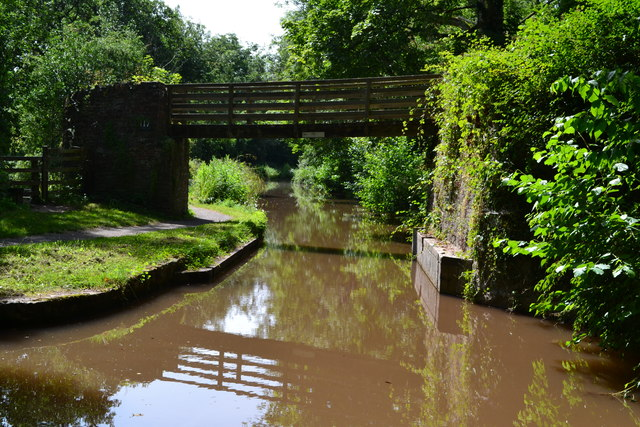 Bridge No. 117 on the Monmouthshire and Brecon Canal