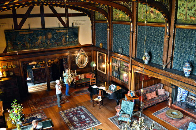 The Great Parlour, Wightwick Manor