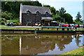 SO2414 : Castle Boats hire base at Gilwern by David Martin