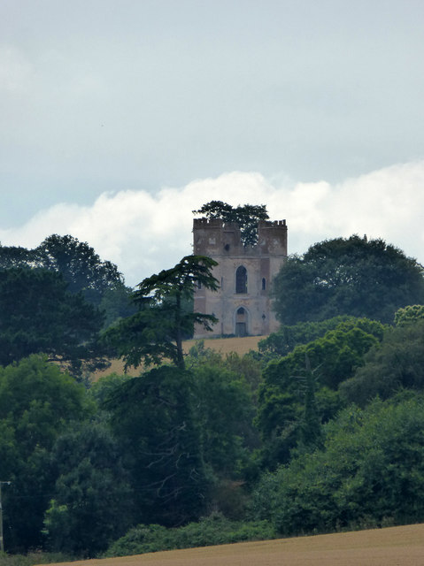 Powderham Castle Belvedere