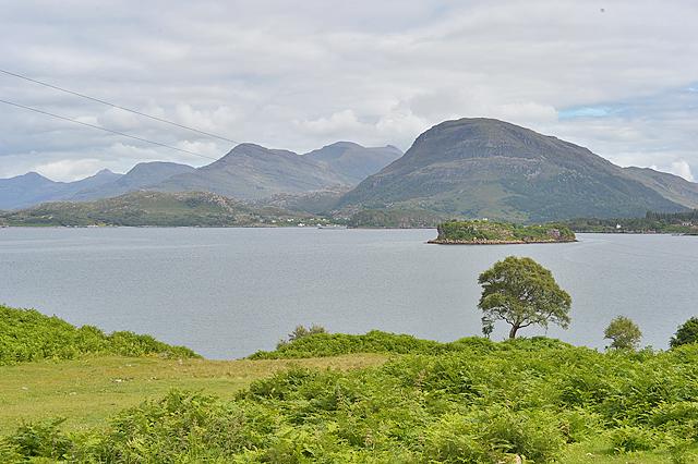 View across Loch Shieldaig